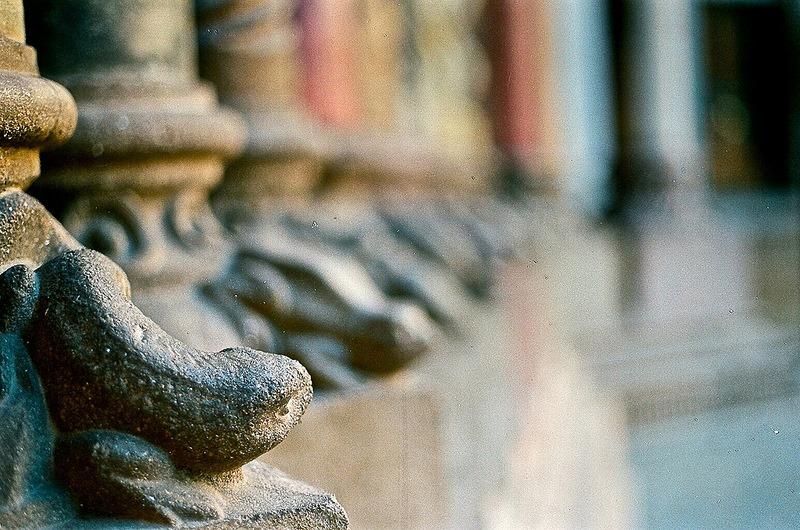 Detalhe em arquitetura de igreja, Córdoba, Argentina.  Foto: Paulo Carrano