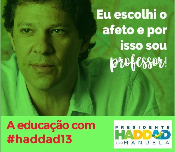 Neste dia do professor quero conversar sobre as propostas de Educação dos candidatos à presidência daRepública.